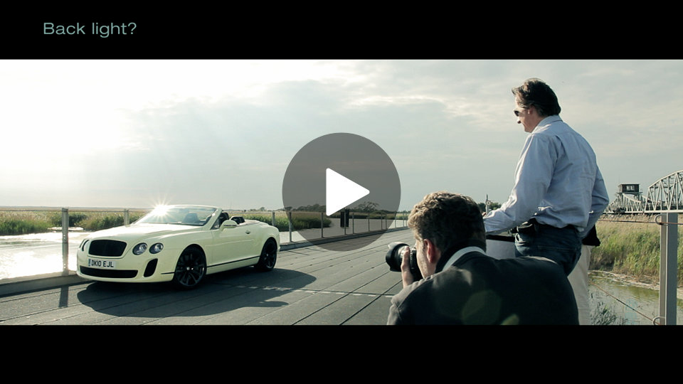 Vorschaubild BENTLEY FOTOSHOOTING Making-of